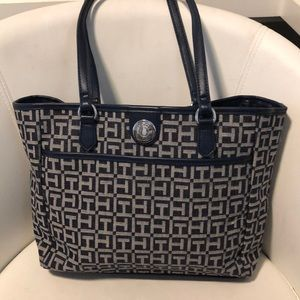 Tommy Hilfiger canvas tote bag
